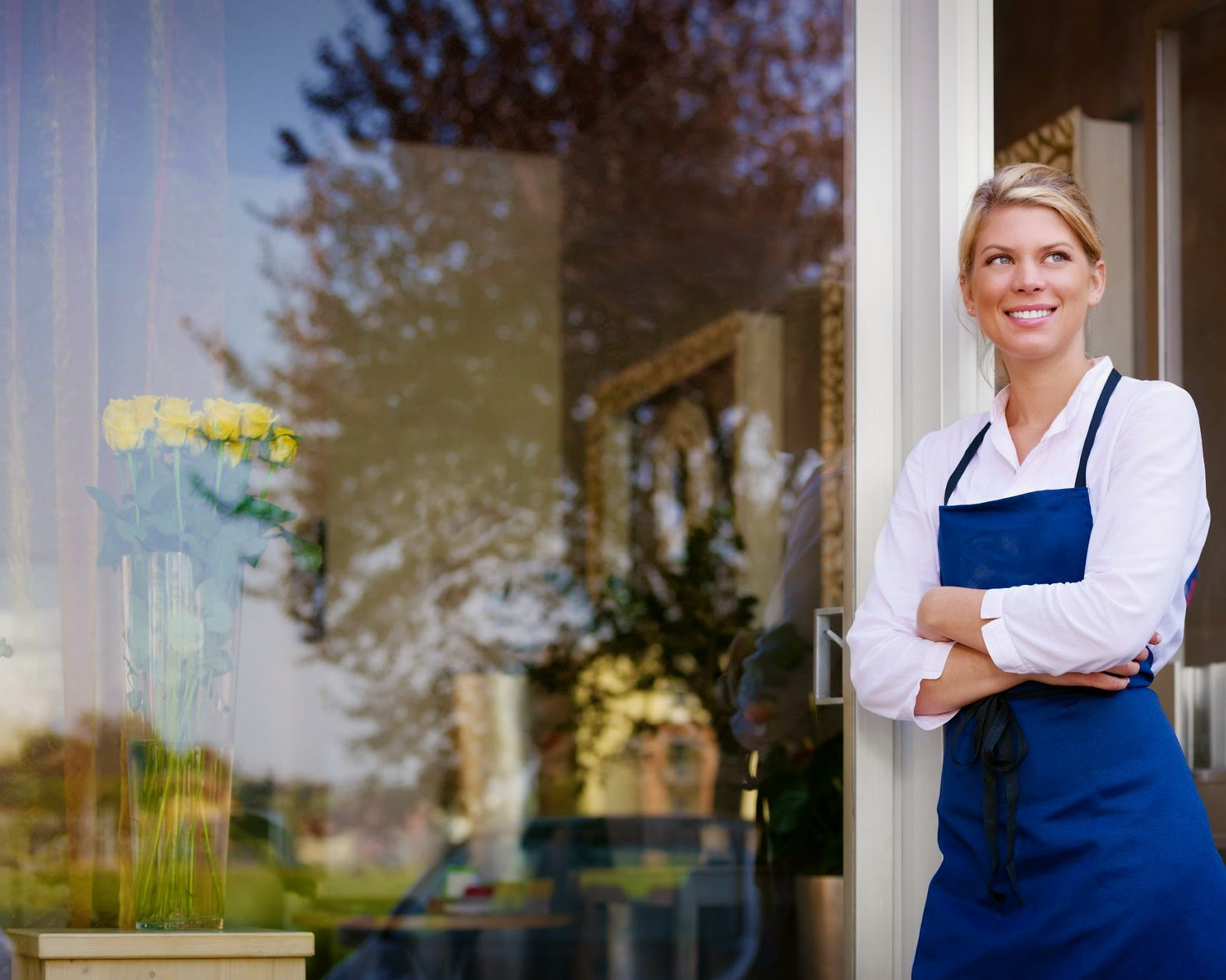 Woman-business-owner-outside-r