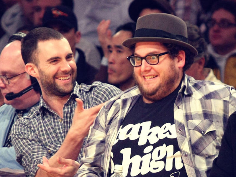 adam levine and jonah hill friends