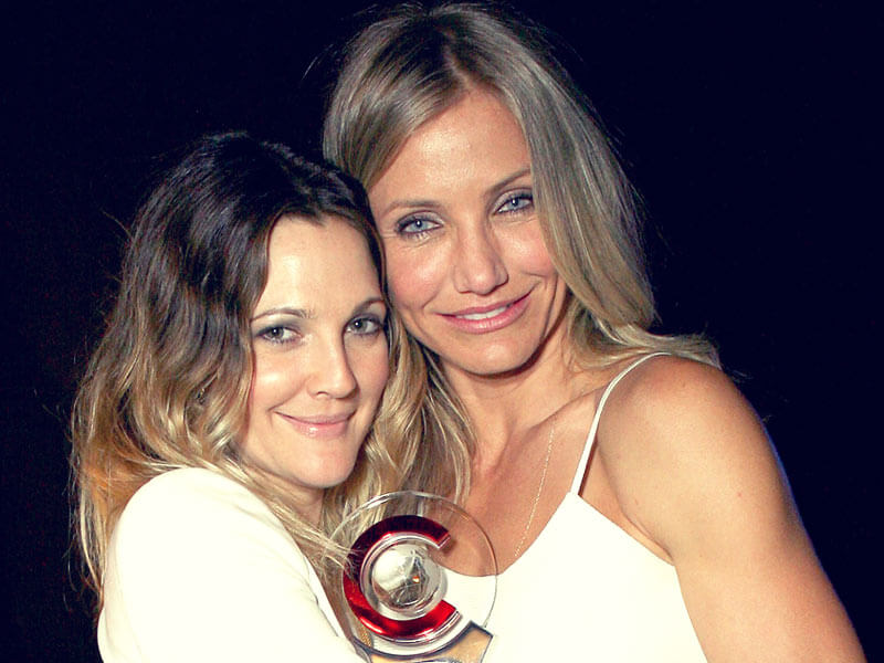 cameron diaz and drew barrymore friends